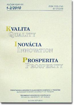 Quality Innovation Prosperity