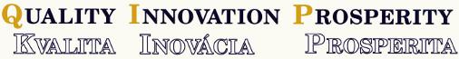 Header Quality Innovation Prosperity